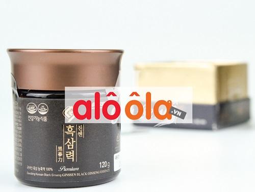 Cao hắc sâm Daedong cao cấp hộp 120gr Hàn Quốc chính hãng