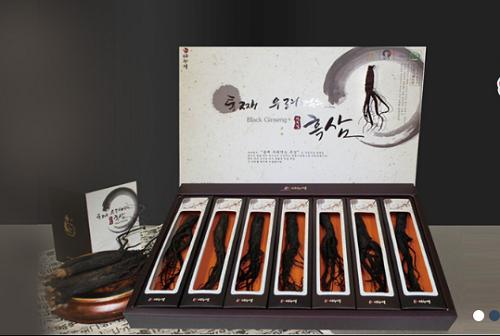 hắc sâm nguyên củ danurim được sản xuất bởi thương hiệu nổi tiếng của hàn quốc