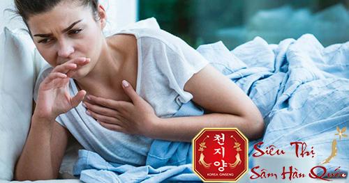 công dụng của sâm tẩm mật ong sambok food đối với người mới ốm dậy