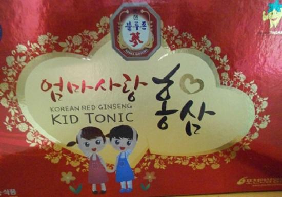 hồng sâm baby kid tonic giúp trẻ tăng trưởng khỏe mạnh