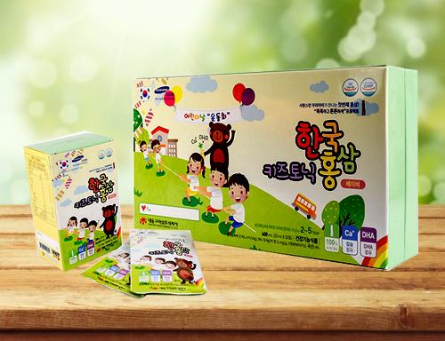 hộp Korean Red Ginseng Baby 2-5 year hàn quốc 30 gói