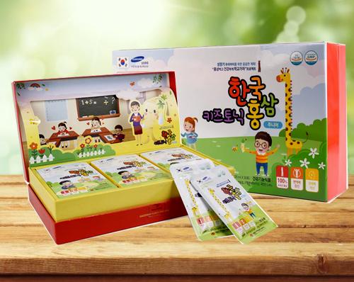 không dùng  Korean Red Ginseng Junior 6-13 year cho trẻ nhỏ dưới 2 tuổi