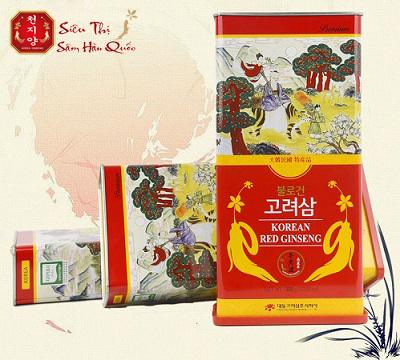 Hồng sâm củ khô Hàn Quốc 300g
