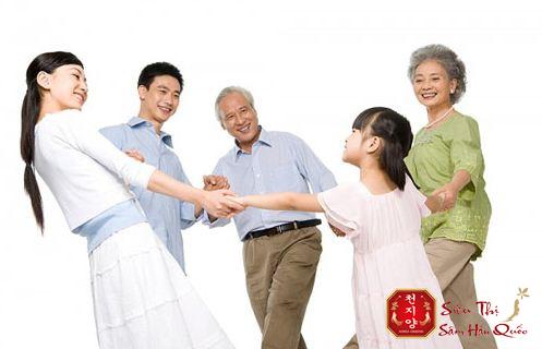 Hồng sâm củ khô Hàn Quốc tốt cho sức khỏe
