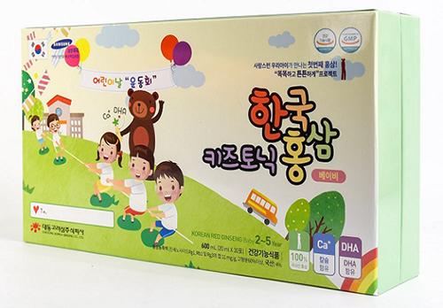 Korean Red Ginseng Baby 2-5 year  được đánh giá cao về công dụng chất lượng