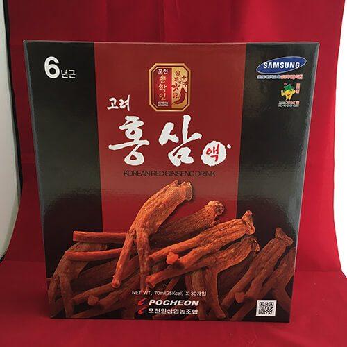 Nước hồng sâm Pocheon 70ml * 30 gói