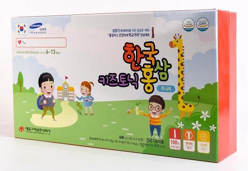 Hồng Sâm Trẻ Em 6-13 Tuổi Korean Red Ginseng Junior 6-13 Chính Hãng