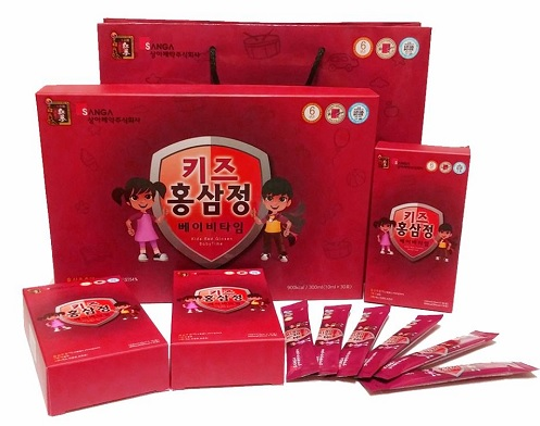 Nước Hồng Sâm Baby Sanga Hàn Quốc Cho Trẻ Cao Lớn Thông Minh Hơn