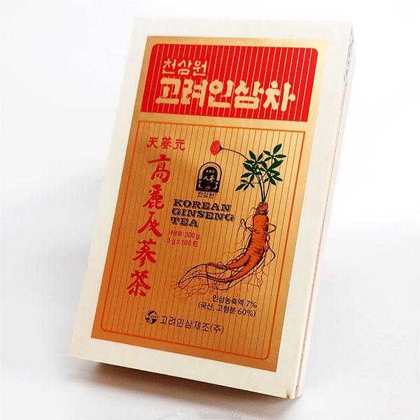 Trà Hồng Sâm Hàn Quốc cao cấp hộp 100 gói