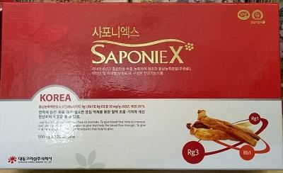 Viên bột hồng sâm cao cấp Sapoin X Daedong Hàn Quốc
