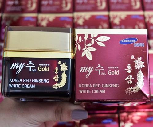 My Gold Korea Red Ginseng White Cream được nhiều chị em tin dùng