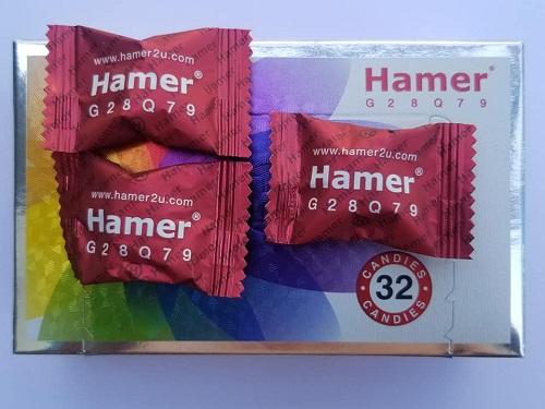 kẹo sâm hamer hộp 32 viên