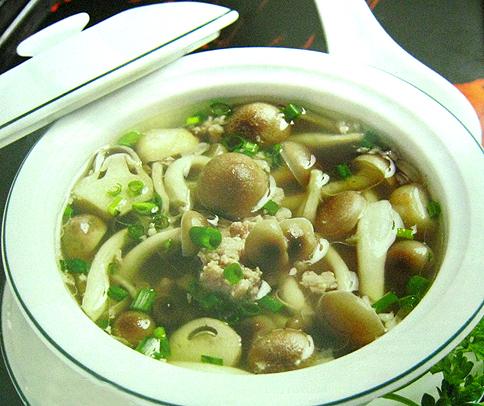 linh chi thái nấu sup