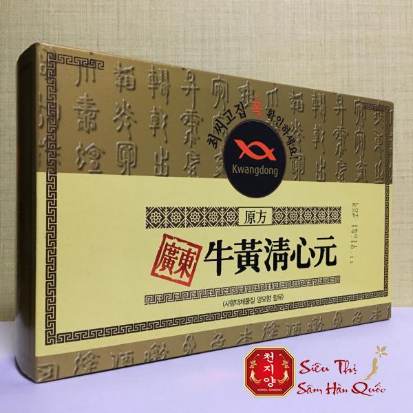 Lưu ý khi dùng sản phẩm An cung ngưu hoàng hoàn hộp vàng Hàn Quốc