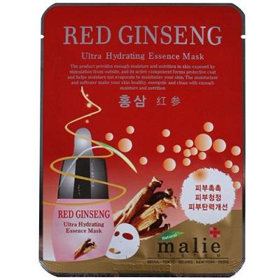 mặt nạ hồng sâm malie red ginseng hàn quốc