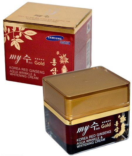 Kem dưỡng da chống nhăn hồng sâm My Gold Hàn Quốc