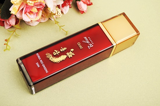 Nước hoa hồng hồng sâm My jin gold 130ml Hàn Quốc