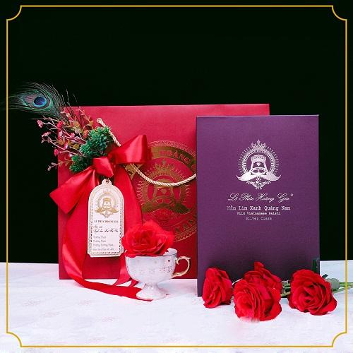 nấm lim xanh lê phúc hoàng gia hạng bạc được dùng làm quà biếu tặng