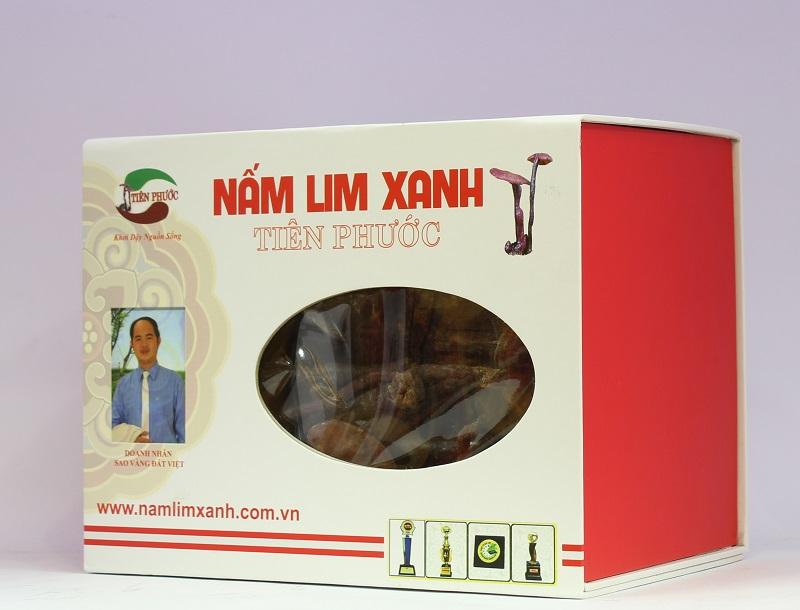 Nấm linh chi xanh hồng chi tiên phước 0,5kg