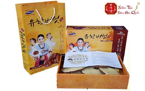 Tác dụng của nấm linh chi đỏ núi đá Hàn Quốc