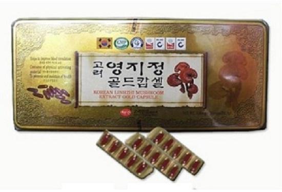 Viên linh chi Hàn Quốc KGS sản phẩm chiết xuất từ nấm linh chi