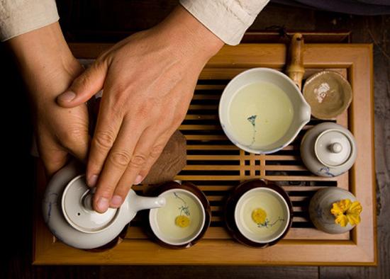 Dụng cụ pha trà sâm Hàn Quốc