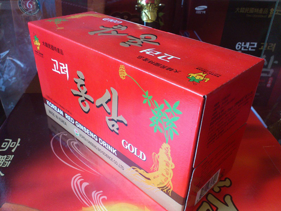Nước hồng sâm 100ml/chai-sản phẩm tiện dụng