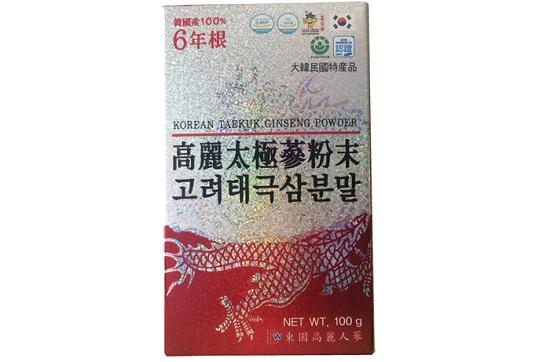 Bột hồng sâm Hàn Quốc Dongil hộp 3 lọ