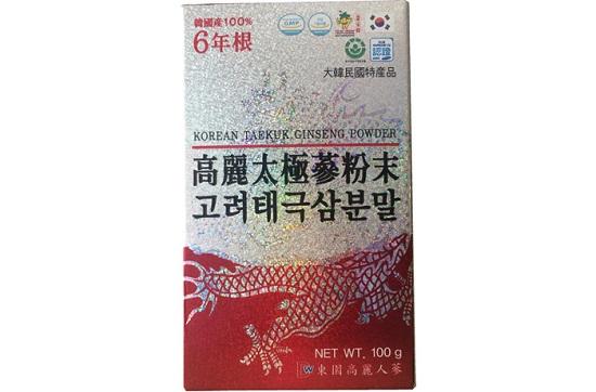 Bột hồng sâm Hàn Quốc Dongil lọ 100g