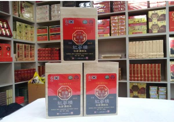 Cao hồng sâm hộp gỗ Hàn Quốc- sản phảm nổi tiếng của xứ sở kim chi