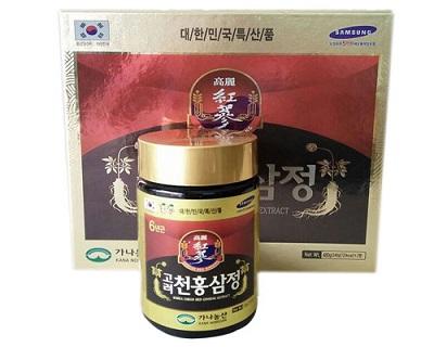 Cao hồng sâm Kana Hàn Quốc 2 lọ x 240g tăng cường sinh lực