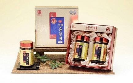 Cao hồng sâm KGS Hàn Quốc 2 lọ x 240g quà tặng sức khỏe