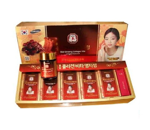 Cao hồng sâm linh chi collagen