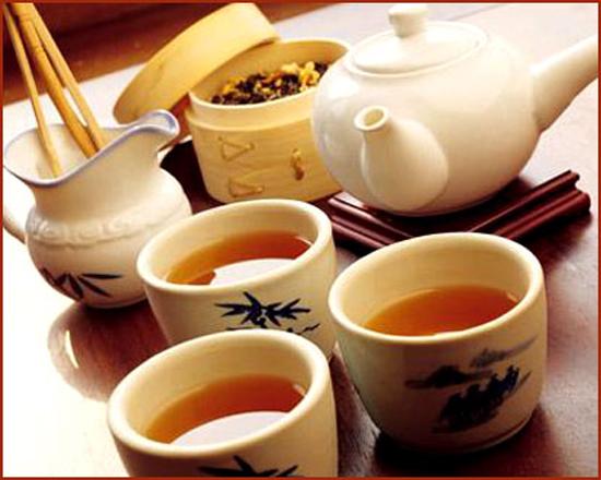 Dụng cụ pha trà hồng sâm hàn quốc