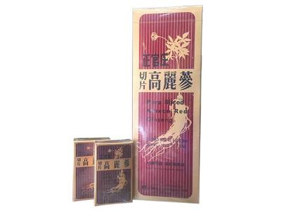 Hồng sâm khô thái lát Hàn Quốc hộp 300g bảo vệ sức khỏe