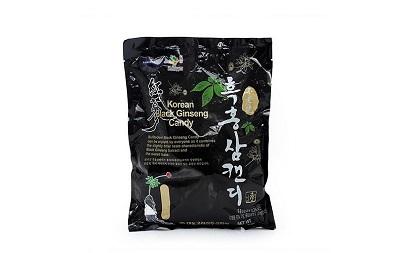 Kẹo hắc sâm Hàn Quốc túi 250g hương vị thơm ngon, dịu nhẹ