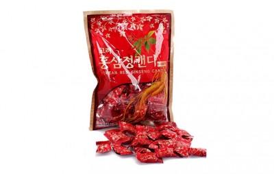 Kẹo hồng sâm KGS túi 300g từ tinh chất hồng sâm 6 năm tuổi