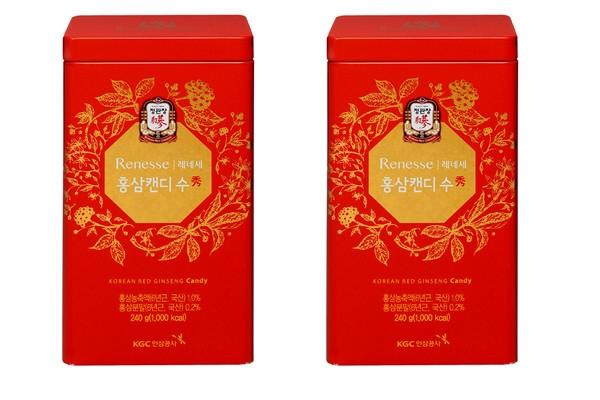 Kẹo sâm Hàn Quốc hộp thiếc 240g
