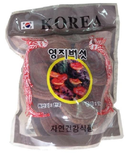 Nấm linh chi khô Hàn Quốc-sử dụng trong thời gian dài
