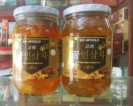 Nhân sâm ngâm mật ong Bio Apgold