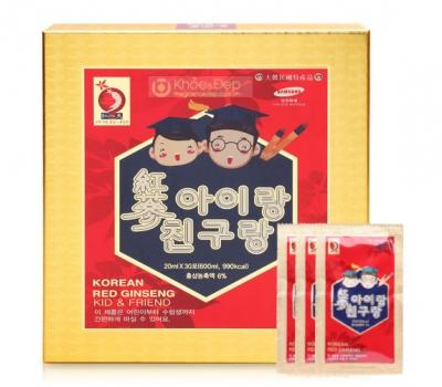 Nước hồng sâm Baby Hàn Quốc Bio Apgold hộp 30 gói cao cấp