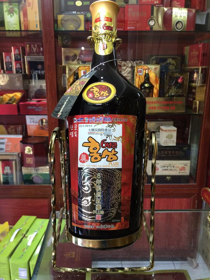Nước hồng sâm đông trùng hạ thảo Kanghwa 3 lít