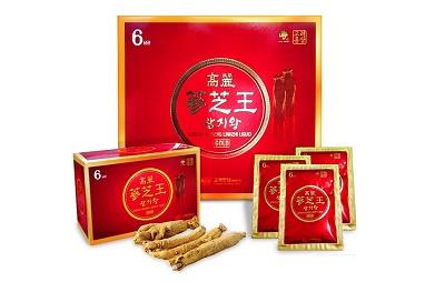 Nước hồng sâm Hàn Quốc KGS hộp 60 gói món quà Tết ý nghĩa