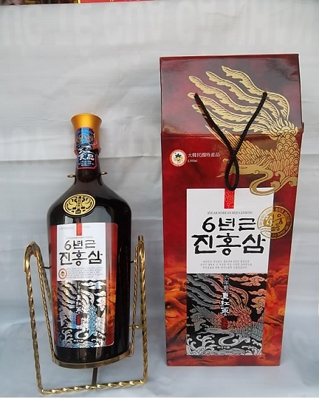 Nước hồng sâm Hàn Quốc Teawoong chai 3 lít