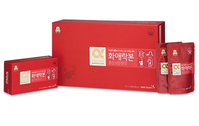 Nước Hồng Sâm KGC cho nữ hộp 30 gói giúp chị em khỏe đẹp