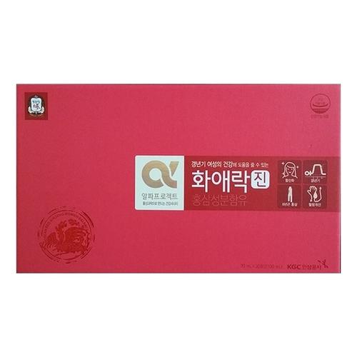 Nước Hồng Sâm KGC cho nữ hộp 5 gói x 70 ml tốt cho sức khỏe