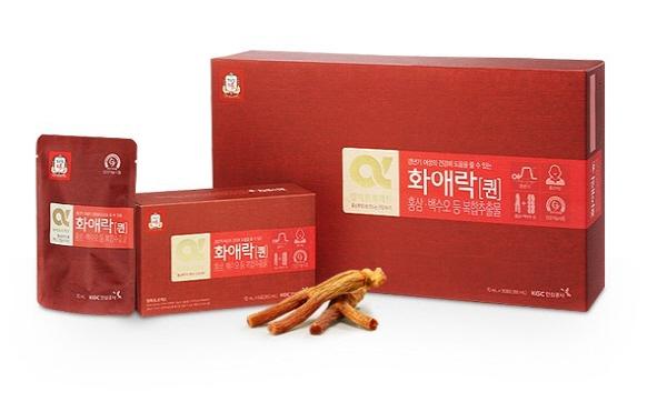 Nước Hồng Sâm KGC cho nữ hộp 5 gói x 70 ml