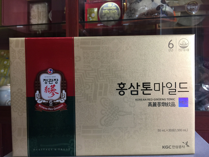Nước hồng sâm KGC Plus Mild
