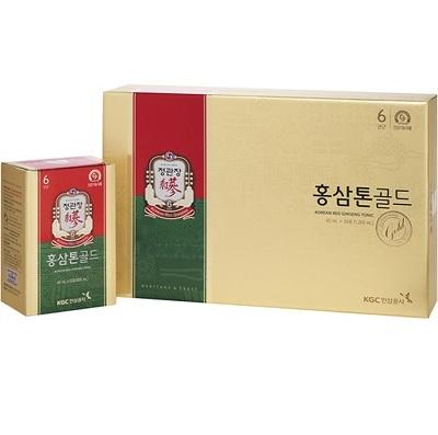 Nước hồng sâm KGC Tonic Gold chất lượng hàng đầu Hàn Quốc