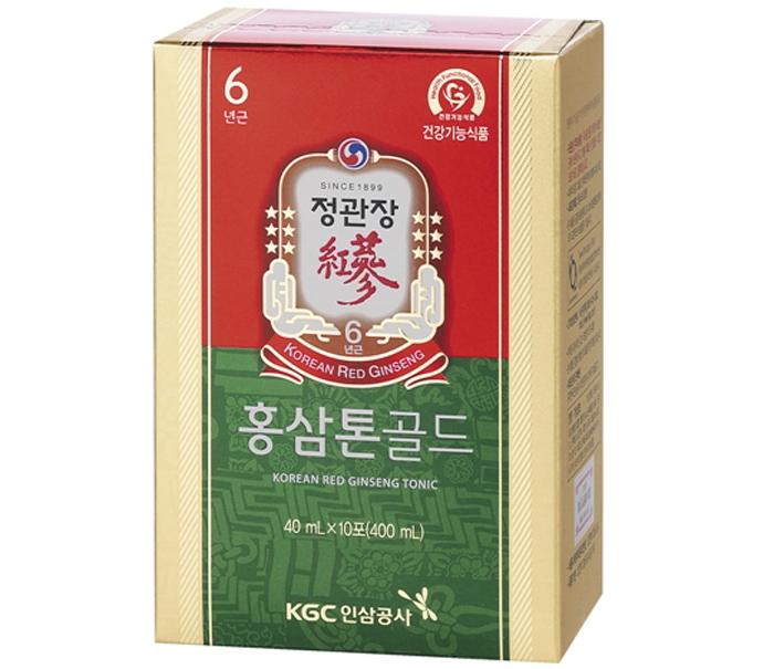 Nước hồng sâm KGC Tonic Gold